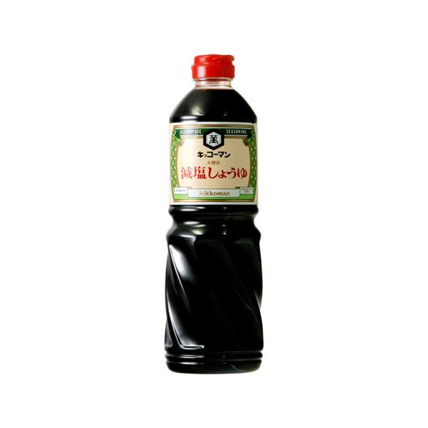 ■キッコーマン 減塩しょうゆ 1L