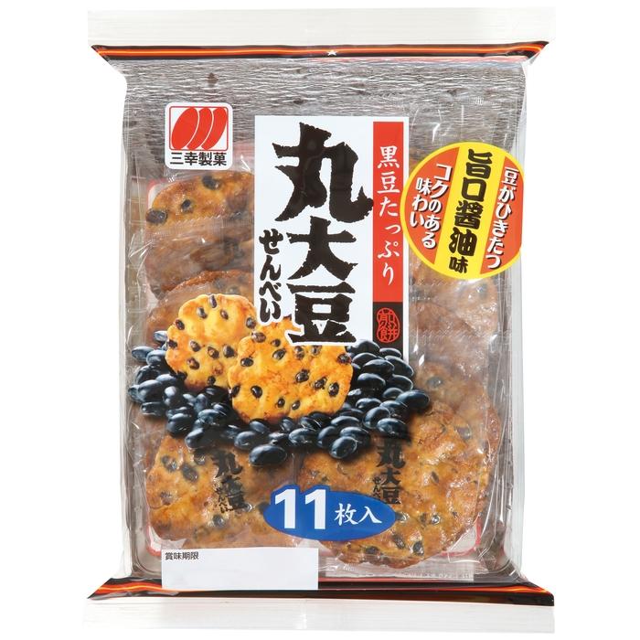 三幸製菓 丸大豆せんべい 11枚入り