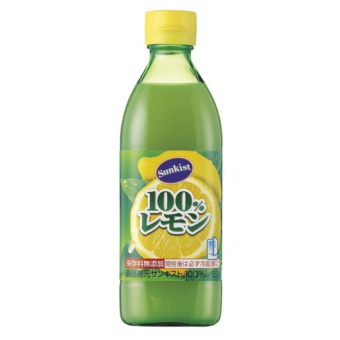 サンキストレモン100 % 500ml