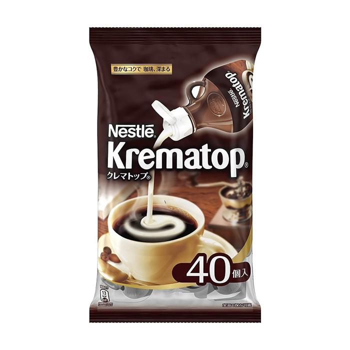 【TAKEYAスマイル便 対象品】ネスレクレマトップ40点入りポーションコーヒー用ミルク|コーヒーミルク