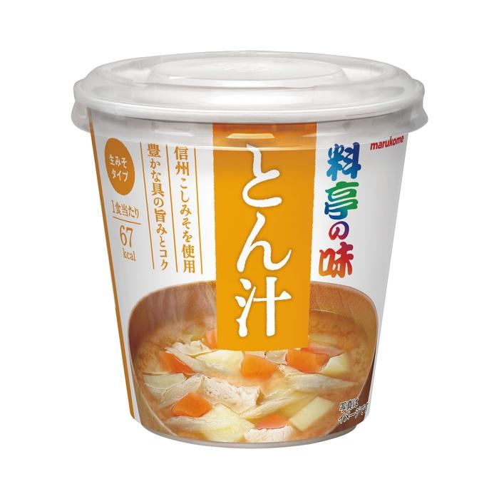 インスタント麺類 カップ・スープ・みそ汁 マルコメカップ 料亭の味とん汁
