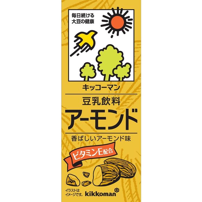 キッコーマン豆乳飲料アーモンド200ml