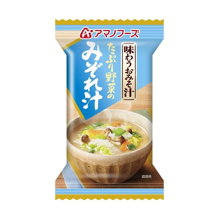 ■アマノフーズ 味わうおみそ汁 みぞれ汁 1食