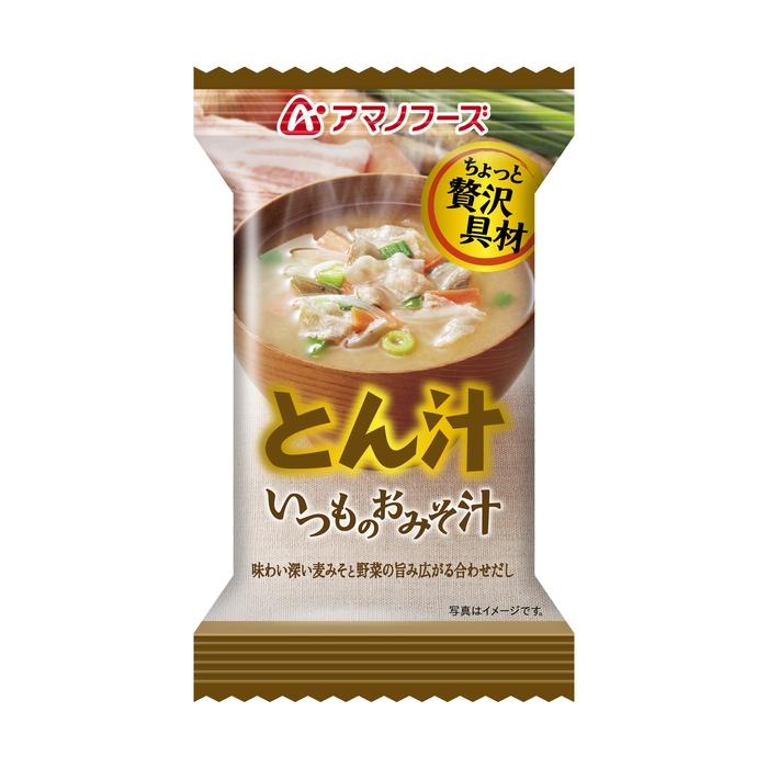 味噌汁・吸物 インスタント味噌汁お吸 いつものおみそ汁とん汁12.5g