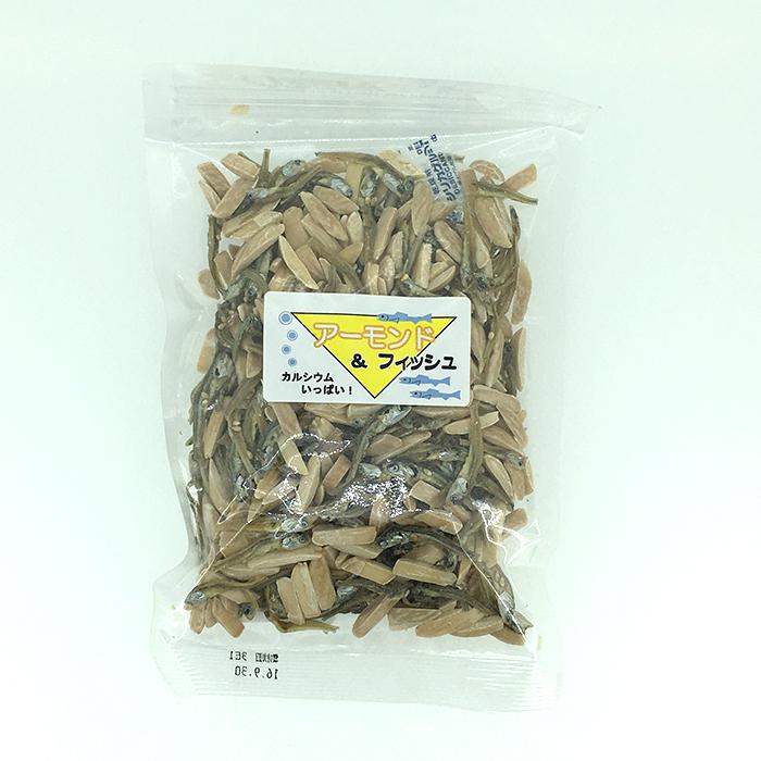 サンナッツ食品 ア-モンド&フィッシュ 140g