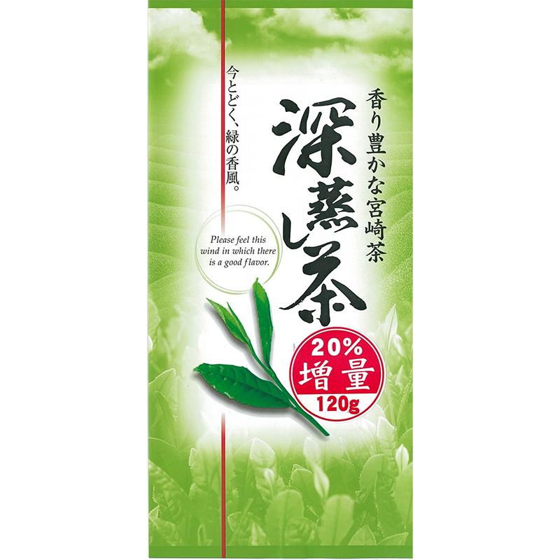 日本茶深蒸し緑茶宮崎県産深蒸し茶120g