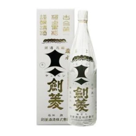 日本酒極上黒松剣菱1800mlお酒酒