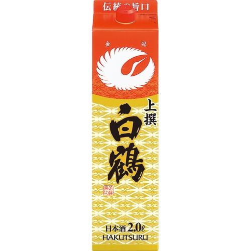 日本酒白鶴上撰2000mlお酒酒
