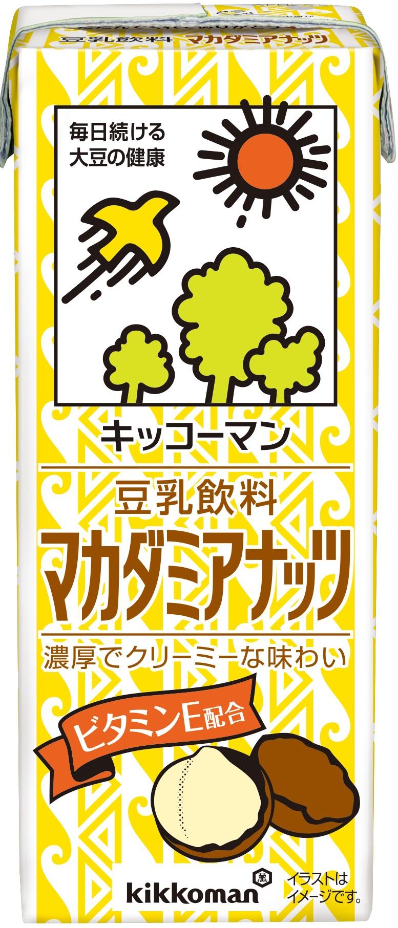 チルド飲料豆乳キッコーマン豆乳飲料マカデミア200ml