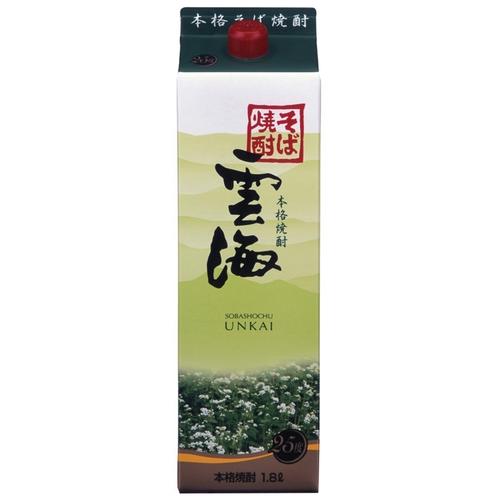 雲海 25度 1800ml お酒 酒