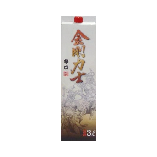 【TAKEYAスマイル便 対象品】日本酒金剛力士3000mlお酒酒