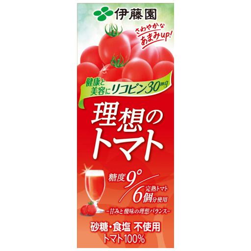 伊藤園理想のトマト200ml×24本入り