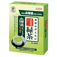食事のおともに食物繊維入り緑茶(6g×60包入)