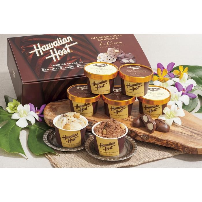 【送料無料】089 ハワイアンホースト マカデミアナッツチョコアイス<AH-HH>【御中元】【お中元】【夏ギフト】