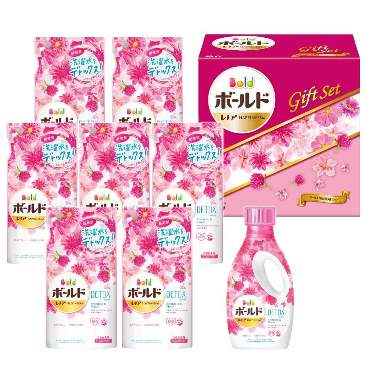 【送料無料】申込番号400* P&G ボールド液体洗剤セット<PGLB-50A>【お中元】【御中元】【夏ギフト】