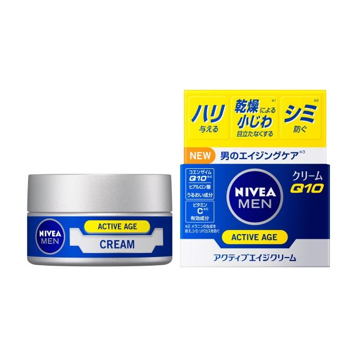 花王 ニベアメン アクティブエイジクリーム【男性用フェイスクリーム・ミルク】