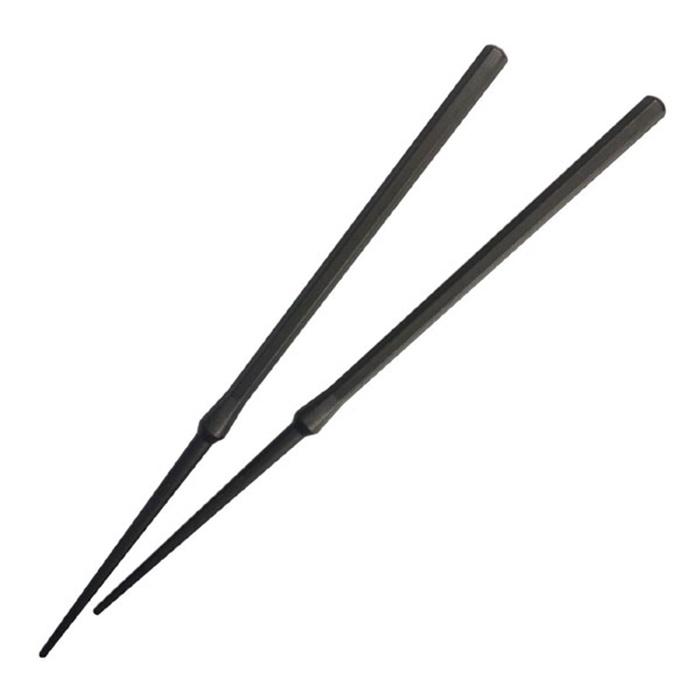 オリエント 食器洗浄機・乾燥機対応 箸置きの要らないお箸 22.5cm ブラック