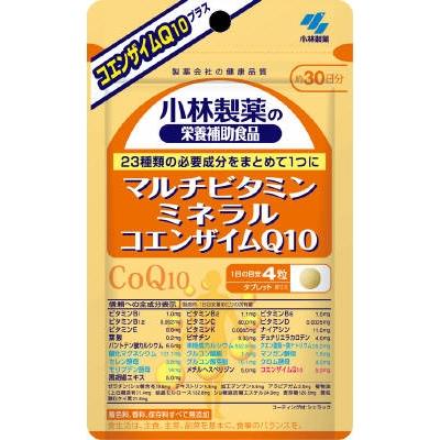 小林製薬 小林 マルチビタミンミネラル +CoQ10 120粒