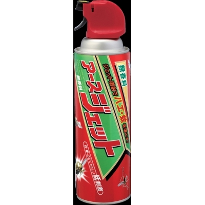 アース製薬 アースジェット 450ml 殺虫剤 ハエ・蚊 エアゾール