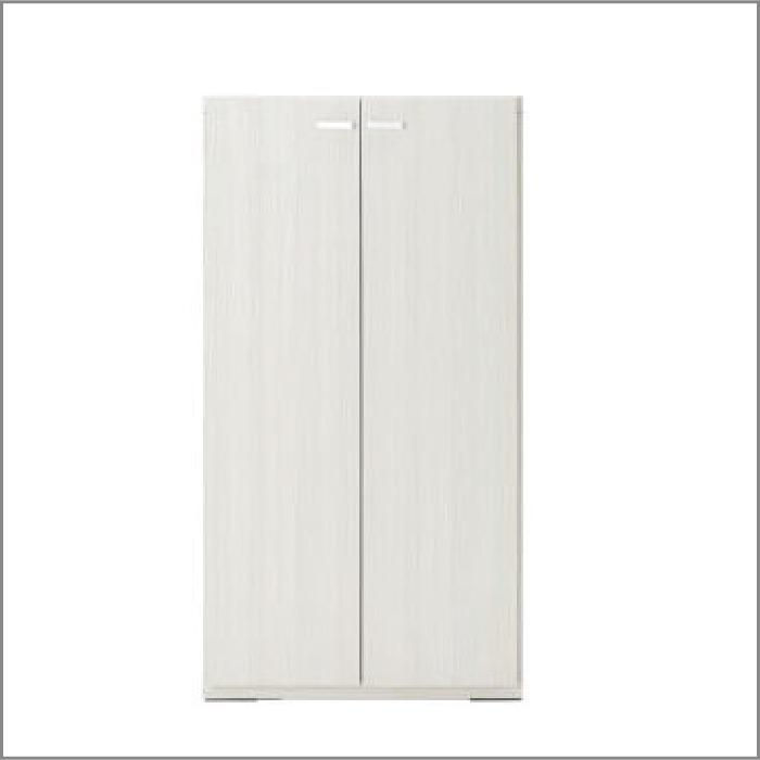【お取り寄せ】フナモコリビングシェルフKFS-60ホワイトウッド壁面スタイル組合せ用商品