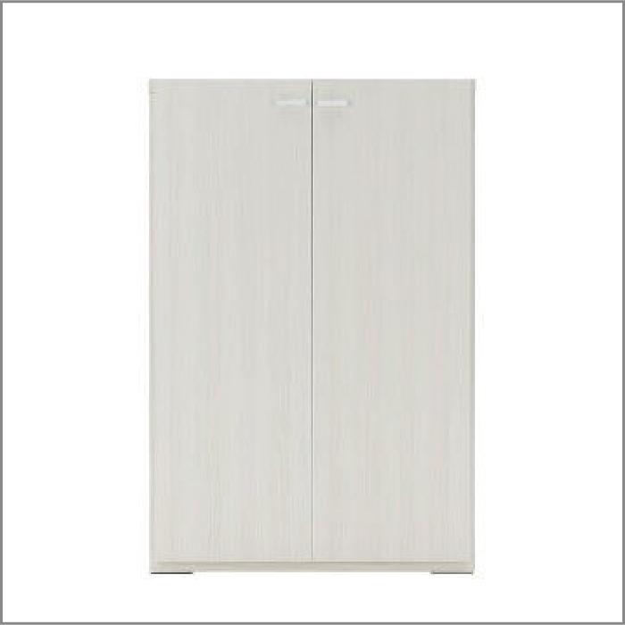 【お取り寄せ】フナモコリビングシェルフKFS-74ホワイトウッド壁面スタイル組合せ用商品