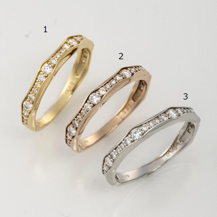 K18ダイヤモンドリング0.3ctNo.1サイズ12.5