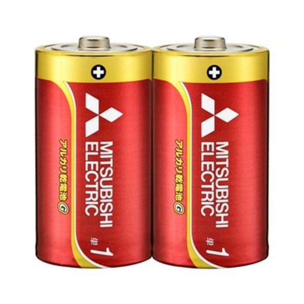 三菱電機アルカリ乾電池単1形2点入LR20GD/2S【MITSUBISIELELCTRICLR20GD/2S】