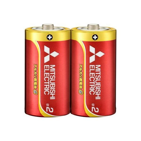 三菱電機アルカリ乾電池単2形2点入LR14GD/2S【MITSUBISIELELCTRICLR14GD/2S】