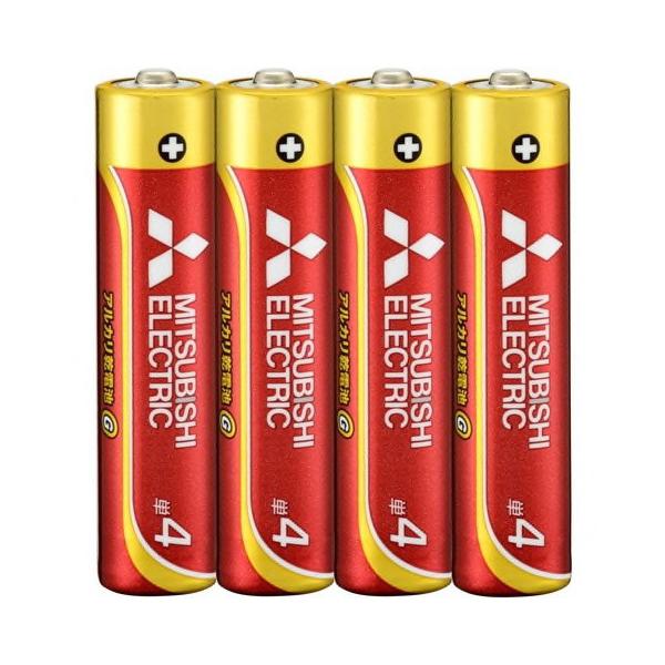 三菱電機アルカリ乾電池単4形4点入LR03GD/4S【MITSUBISIELELCTRICLR03GD/4S】