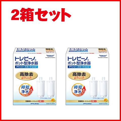 【2箱セット】東レ 浄水器交換用カートリッジトレビーノ PTシリーズ PTC.SV2J