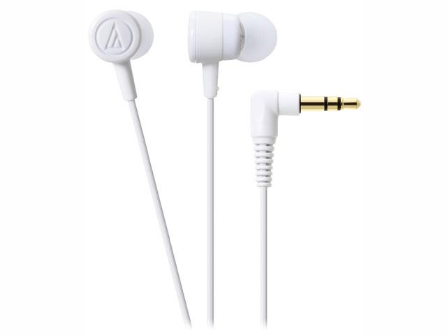audio-technica(オーディオテクニカATH-CKL220WHホワイトインナーイヤーヘッドホン