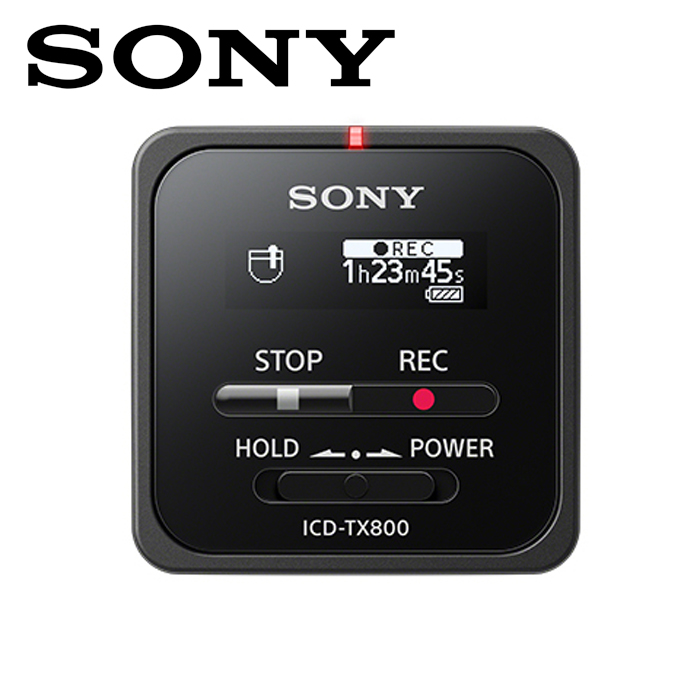 ソニーICD-TX800BブラックステレオICレコーダー16GB