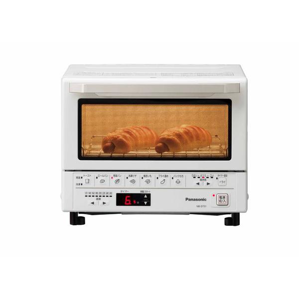 送料無料 パナソニック NB-DT51-W ホワイト オーブントースター Panasonic NBDT51 コンパクトオーブン 1300W