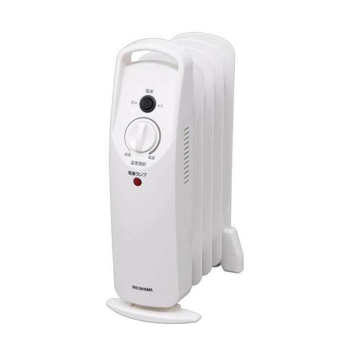 アイリスオーヤマIOH-505KホワイトミニオイルヒーターIRISOHYAMAIOH505K暖房器具暖房機器