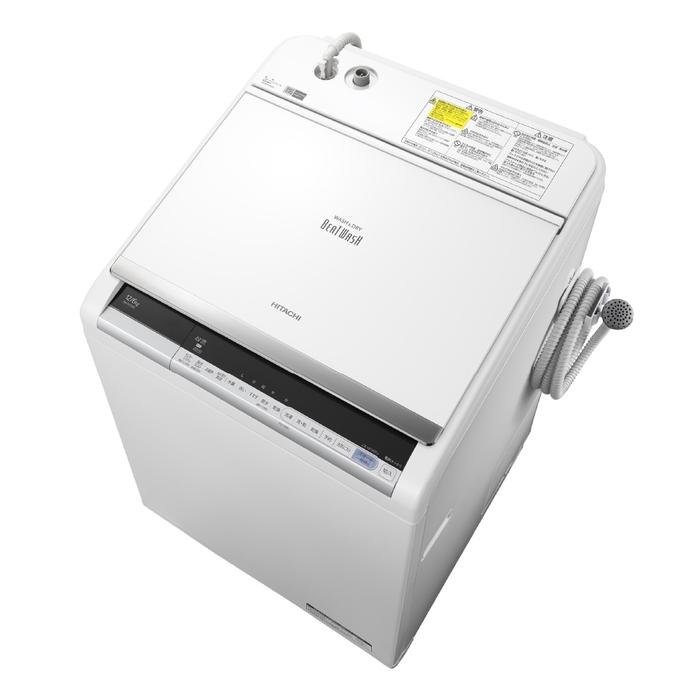 【アウトレット】【基本設置無料】【東京23区近郊限定配送】日立12kg縦型洗濯乾燥機BW-DV120C-WホワイトHITACHIBWDV120C