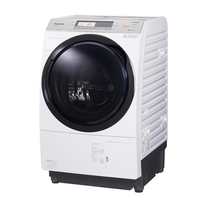 クレーン搬入費半額セール 東京23区近郊限定配送 基本設置無料 条件付きで処分無料 時間指定不可 パナソニック 10kg 左開き ドラム式洗濯乾燥機 NA-VX7900L-W クリスタルホワイト Panasonic NAVX7900L