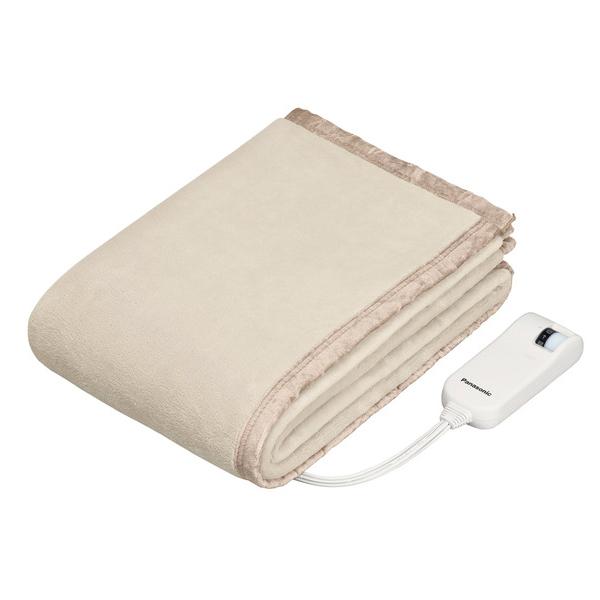 パナソニックDB-UM4LS-Cベージュ電気しき毛布シングルLSサイズPanasonicDBUM4LS電気毛布160×85cm|電気敷き毛布暖房用品