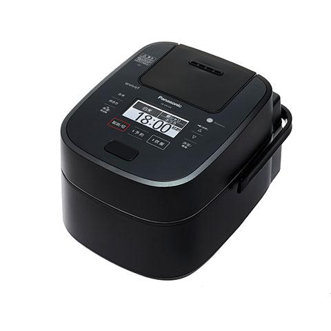 パナソニックスチーム&可変圧力IHジャー炊飯器SR-VSX189-K(ブラック1升炊き