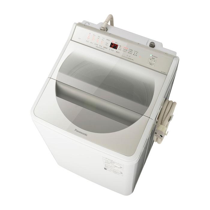 【東京23区近郊限定配送】パナソニック8kg全自動洗濯機NA-FA80H7-Nシャンパン