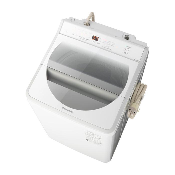 【東京23区近郊限定配送】パナソニック8kg全自動洗濯機NA-FA80H7-Wホワイト