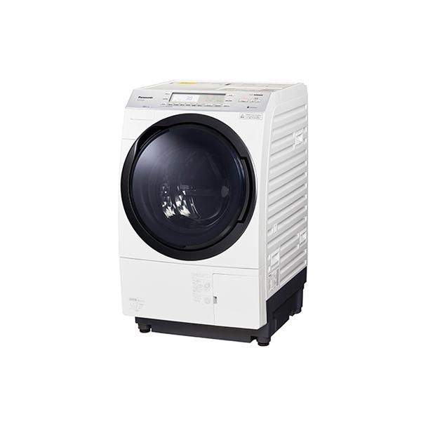 基本設置無料 東京23区近郊限定配送 パナソニック ななめドラム洗濯乾燥機 NA-VX700AR 10kg 右開き クリスタルホワイト