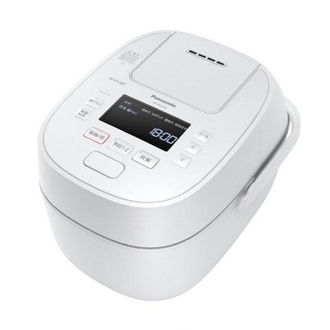パナソニック 可変圧力IHジャー炊飯器1升炊きWおどり炊きSR-MPW180-Wホワイト