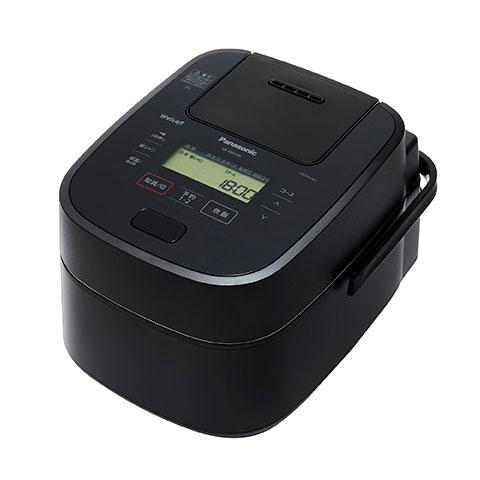 パナソニックスチーム&可変圧力IHジャー炊飯器5.5合炊きWおどり炊きSR-VSA100-Kブラック