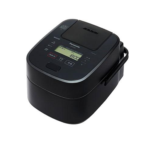パナソニックスチーム&可変圧力IHジャー炊飯器1升炊きWおどり炊きSR-VSA180-Kブラック