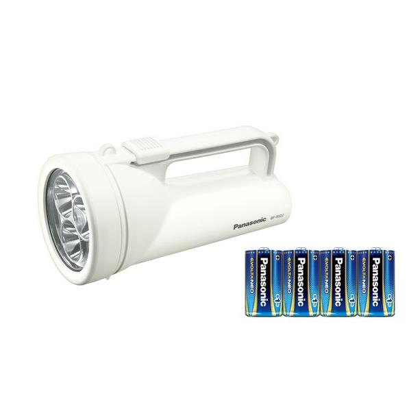 パナソニック乾電池エボルタNEO付きワイドパワーLED強力ライトBF-BS02K-W