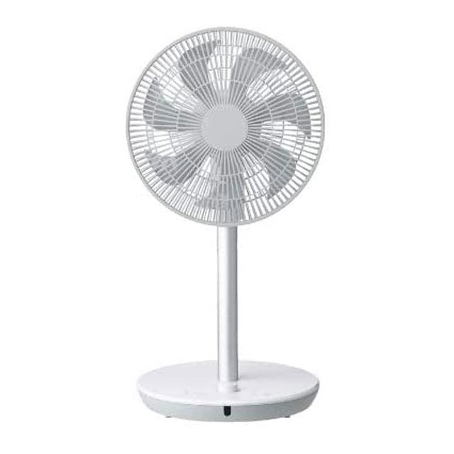 THREEUPスリーアップ2WAYスタイルDCリビングファンCF-T1908WHホワイト|扇風機リモコン首振り