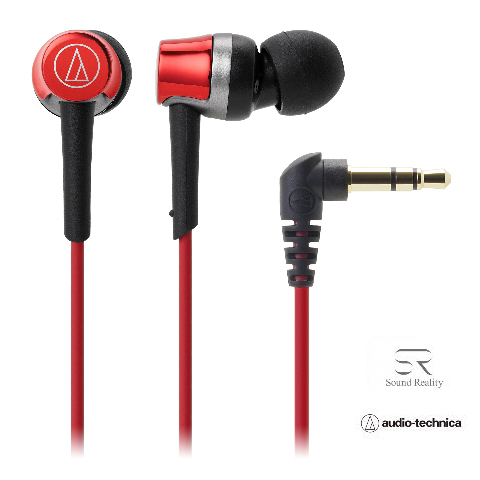 audio-technica(オーディオテクニカATH-CKR30RDレッドイヤホン|ヘッドホン快適フィットSoundReality