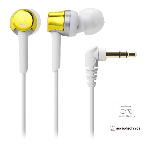 audio-technica(オーディオテクニカATH-CKR30YLイエローイヤホン|ヘッドホン快適フィットSoundReality
