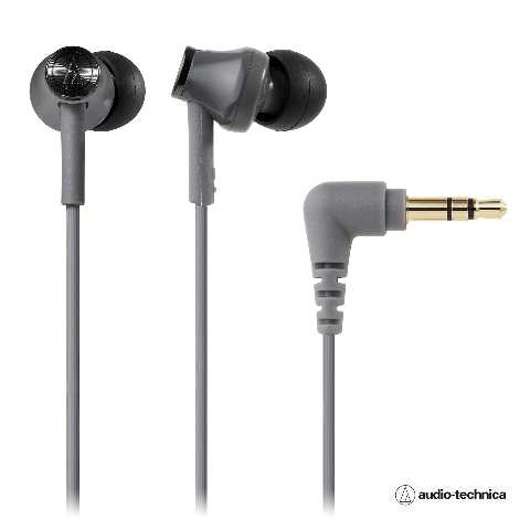 audio-technica(オーディオテクニカATH-CK350MGYグレーイヤホン