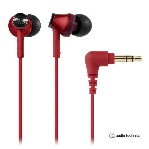 audio-technica(オーディオテクニカATH-CK350MRDレッドイヤホン